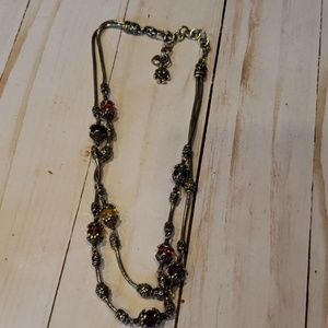 Brighton double strand necklace